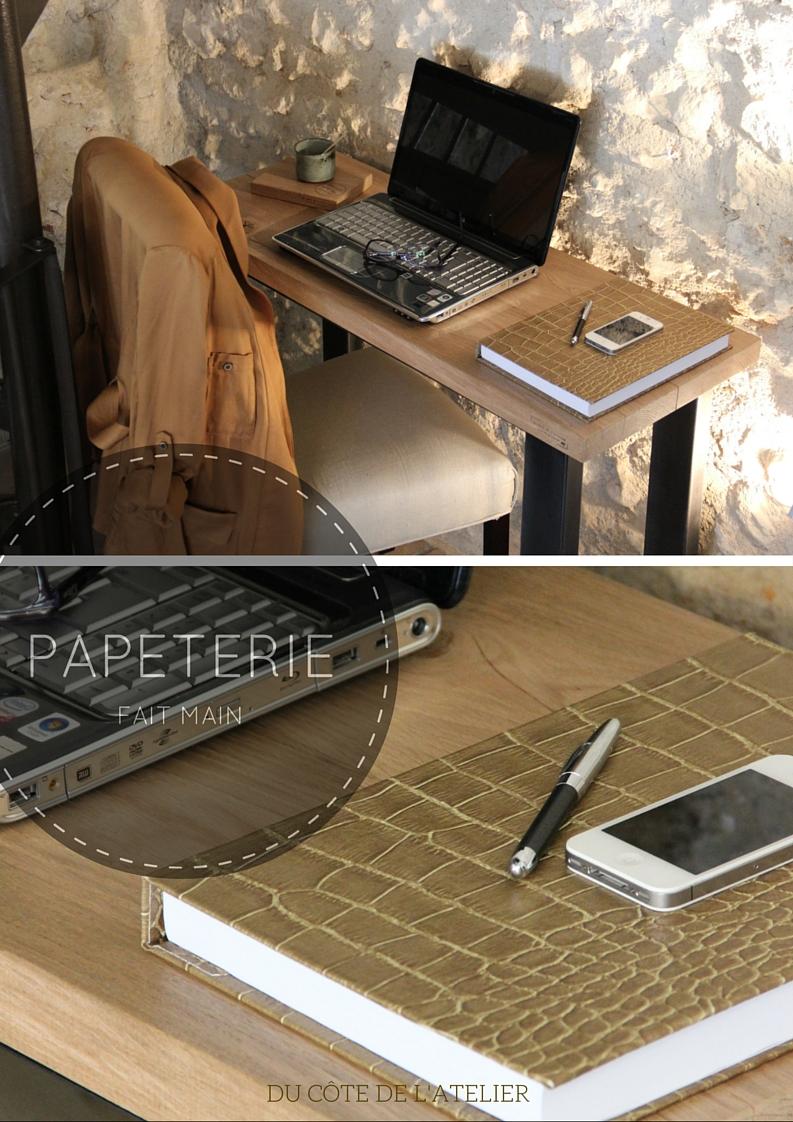 du c t de l 39 atelier bloc note id al pour noter liste de course note book petit format. Black Bedroom Furniture Sets. Home Design Ideas